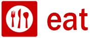 eat icon text